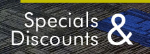 Commercial Carpet Specials & Commercial Carpet Discounts Button